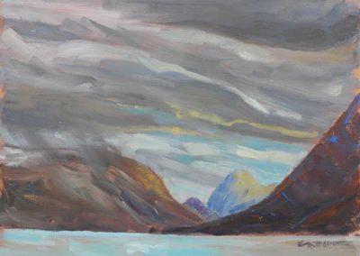 Sundown Rain, Sonderstrom Fiord, Greenland
