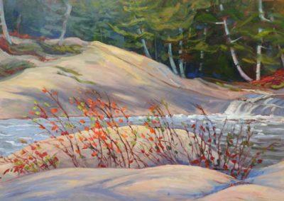 Crystal Pond | 24 x 36 | $1,400 unframed