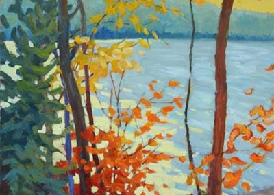 Ode to an Autumn Afternoon | 40 x 30 | $1,800 unframed