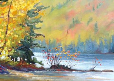 Light of Morning | 18 x 36 | sold