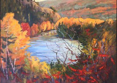 Little Lake Clear | 30 x 36 | $1,600 framed