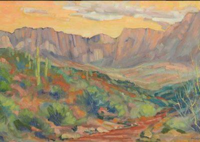 Apache Leap near Superior, AZ | 18 x 36 | sold