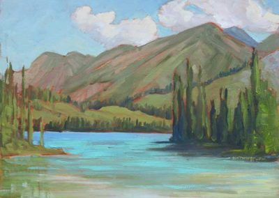 Emerald Lake, Yukon | 9 x 12 | $400 unframed