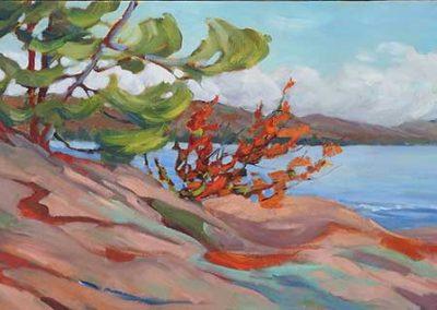 Grand Lake | 12 x 32 | sold