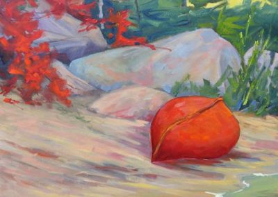 Portrait in Red | $990/850 framed/unframed