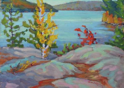 Rocky View North on Grand Lake | 9 x 12 | $400 unframed