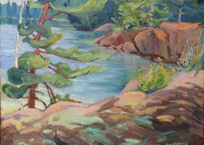 Summer at the Cliffs   16 x 20   $500 unframed