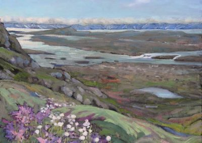 The Sylvia Grinnell River at Frobisher Bay | 16 x 20 | $500 unframed