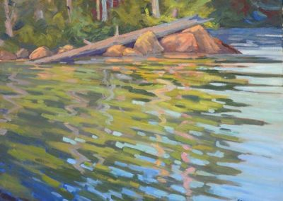 Cause for Reflection   24 x 30   $900 unframed