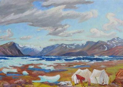 Forecast of Change, Pangnirtung | 15 x 30 |  $650 unframed