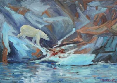 Kingdom of the Ice Bear   16 x 24   sold