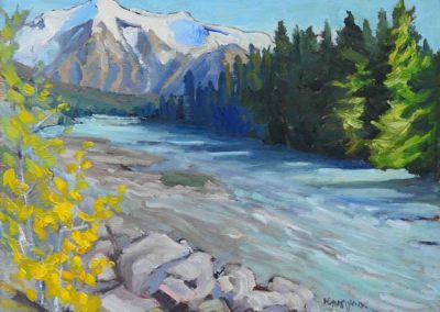 Mount Robson in the Clear |  9 x 12 |  $400 unframed