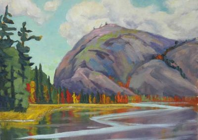 Mountain Muse   16 x 20   $540 unframed