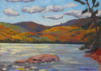 Mountain Joy   9 x 12   $425 framed