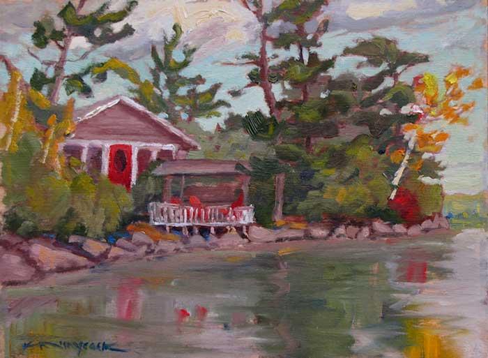 A Southwards Cottage