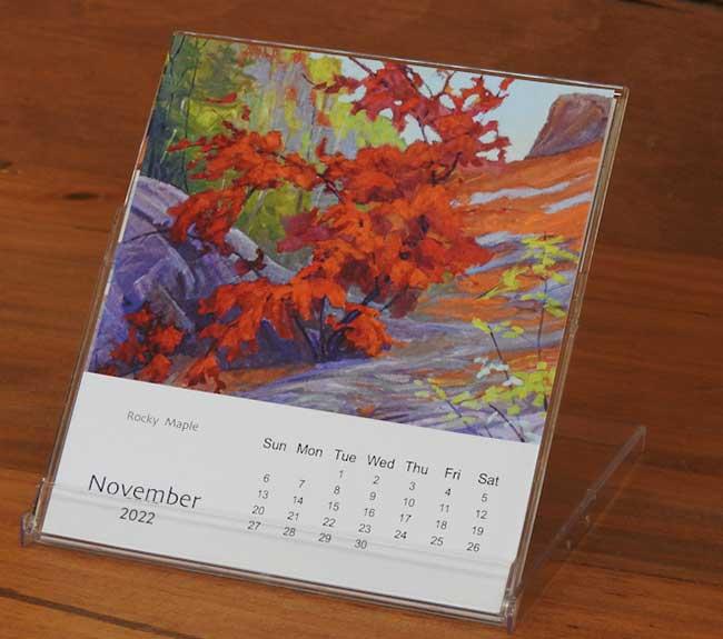 2022 Calendar Open